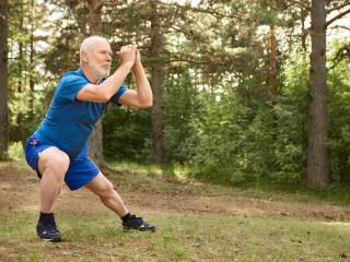 pán senior sport cvičení zdraví pohyb