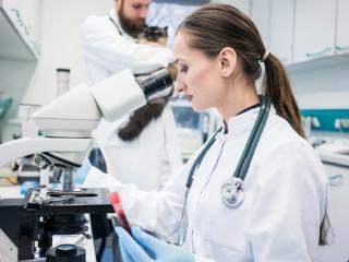 veterinarni ordinace mikroskop