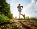 Žena sportovkyně běží