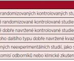 Doporučení ČHS pro diagnostiku a léčbu imunitní trombocytopenie (ITP)