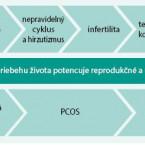 Klinické dôsledky syndrómu polycystických ovárií