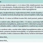 Komentár k aktuálnym odporúčaniam v liečbe diabetu 2. typu