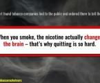 Výrobci cigaret a jejich opravné prohlášení – corrective statement