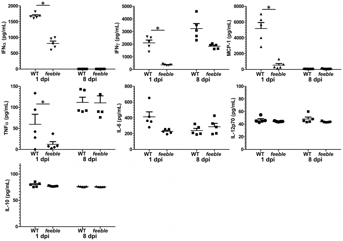 Slc15a4 is required for specific acute inflammatory cytokine production.