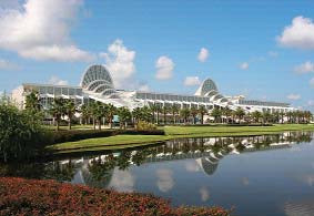 Orange County Convention Center, Orlando – miesto konania.