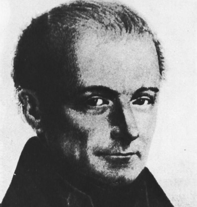 Jan Evangelista Purkyně.