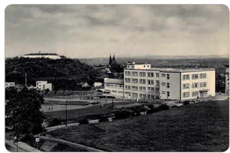 Masarykův onkologický ústav v roce 1935.