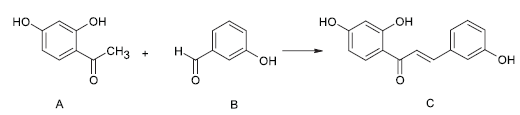Syntéza 2', 3, 4'- trihydroxychalkonu