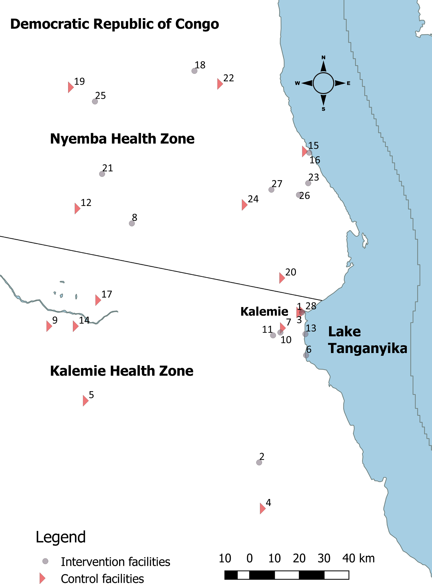 Map of study area.