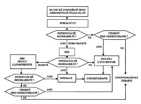 Doporučený postup v diagnostice a léčbě karcinomu pankreatu