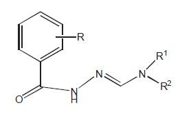 Antimykobakteriálně aktivní hydrazony (aktivní vůči MD). Skupina je velmi početná. Jako substituenty obsahují řadu různých strukturních částí.