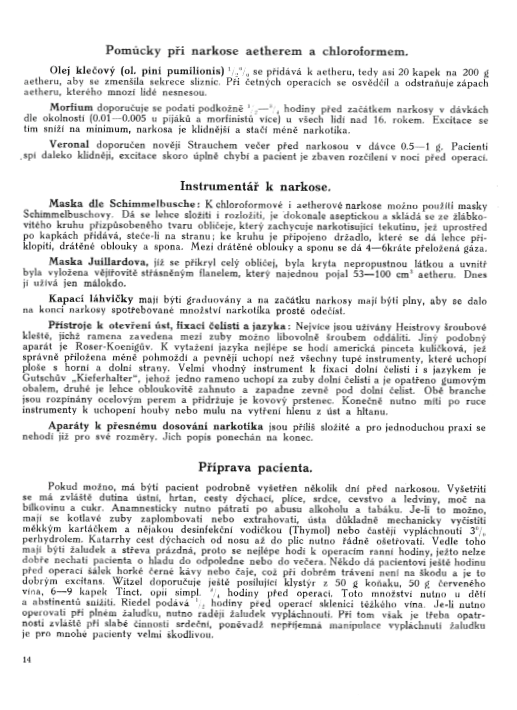 Učebnice chirurgie z r. 1921, s. 14