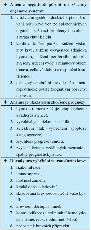 Problematika léčby onkologických pacientů (18, 19)