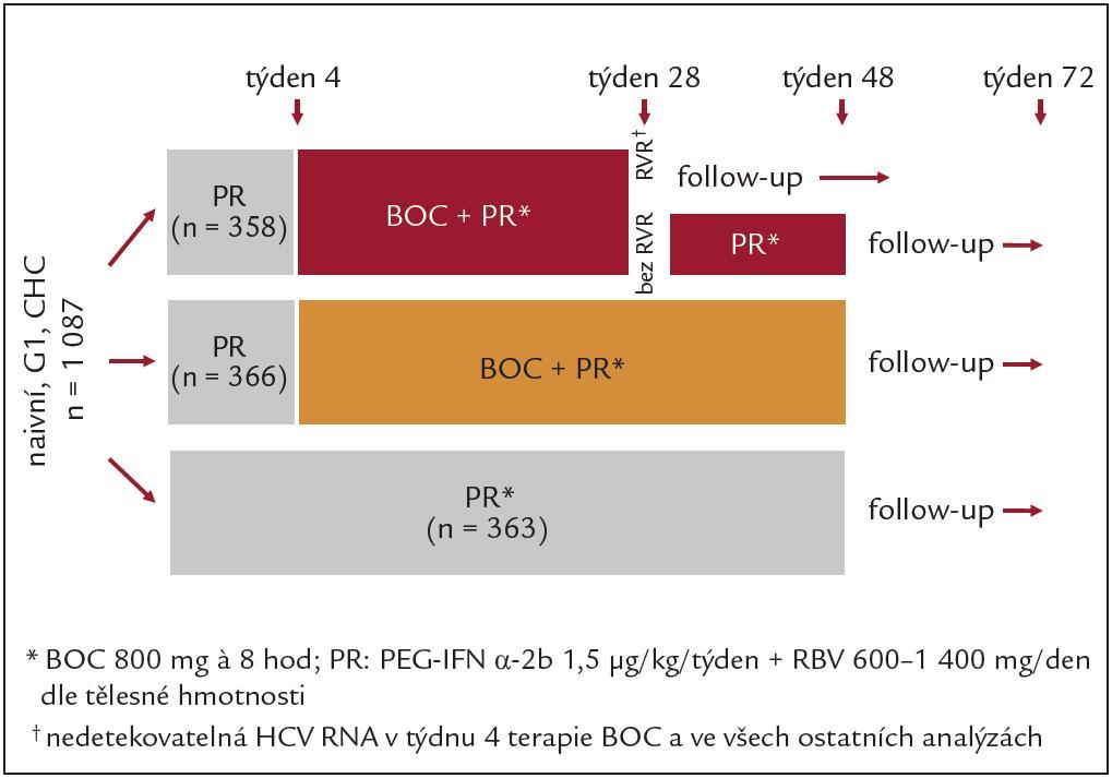 Schéma studie SPRINT-2.