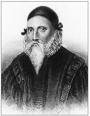 Edward Talbot zvaný Kelley. Jeho údajná podoba.