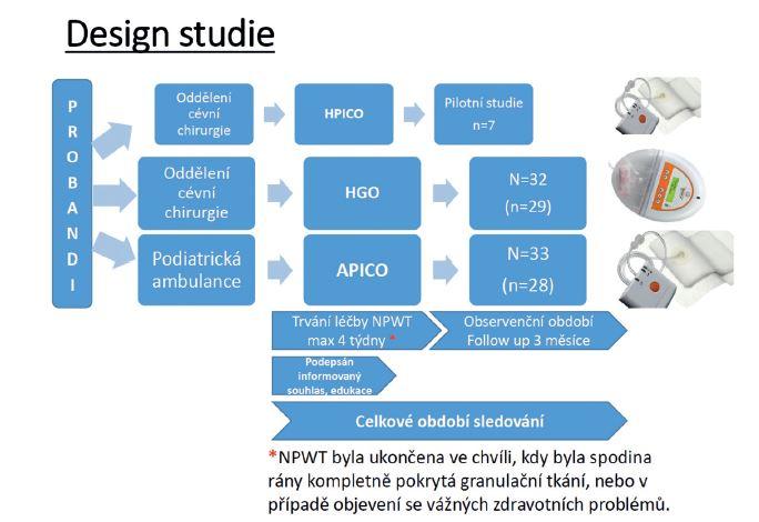 Bližší popis designu studie Fig. 1: Detailed account of the study design