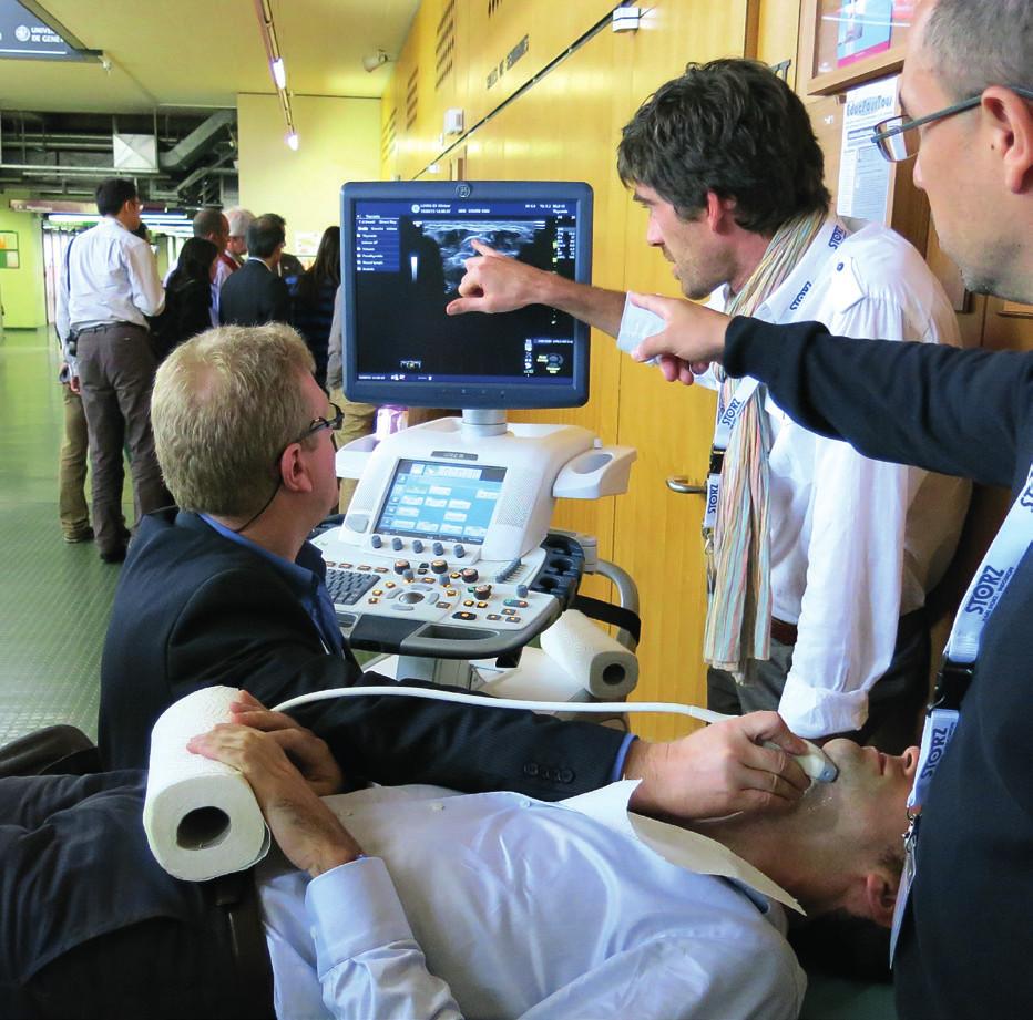 Praktický kurz ultrasonografie.