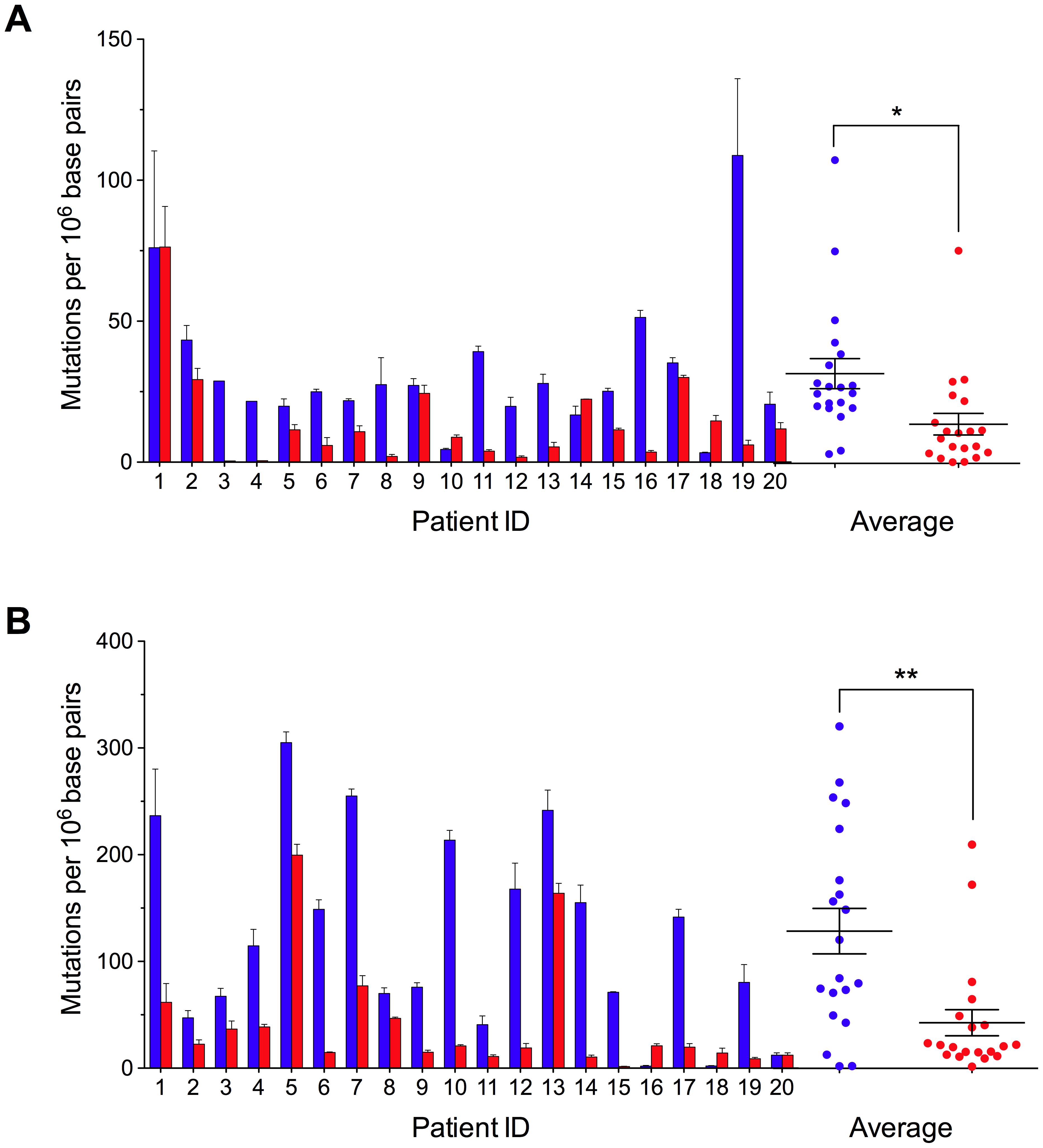 Decreased Random Mitochondrial DNA Mutations in Colorectal Cancer.