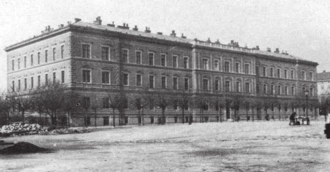 Budova Zemské porodnice v Brně roku 1888.