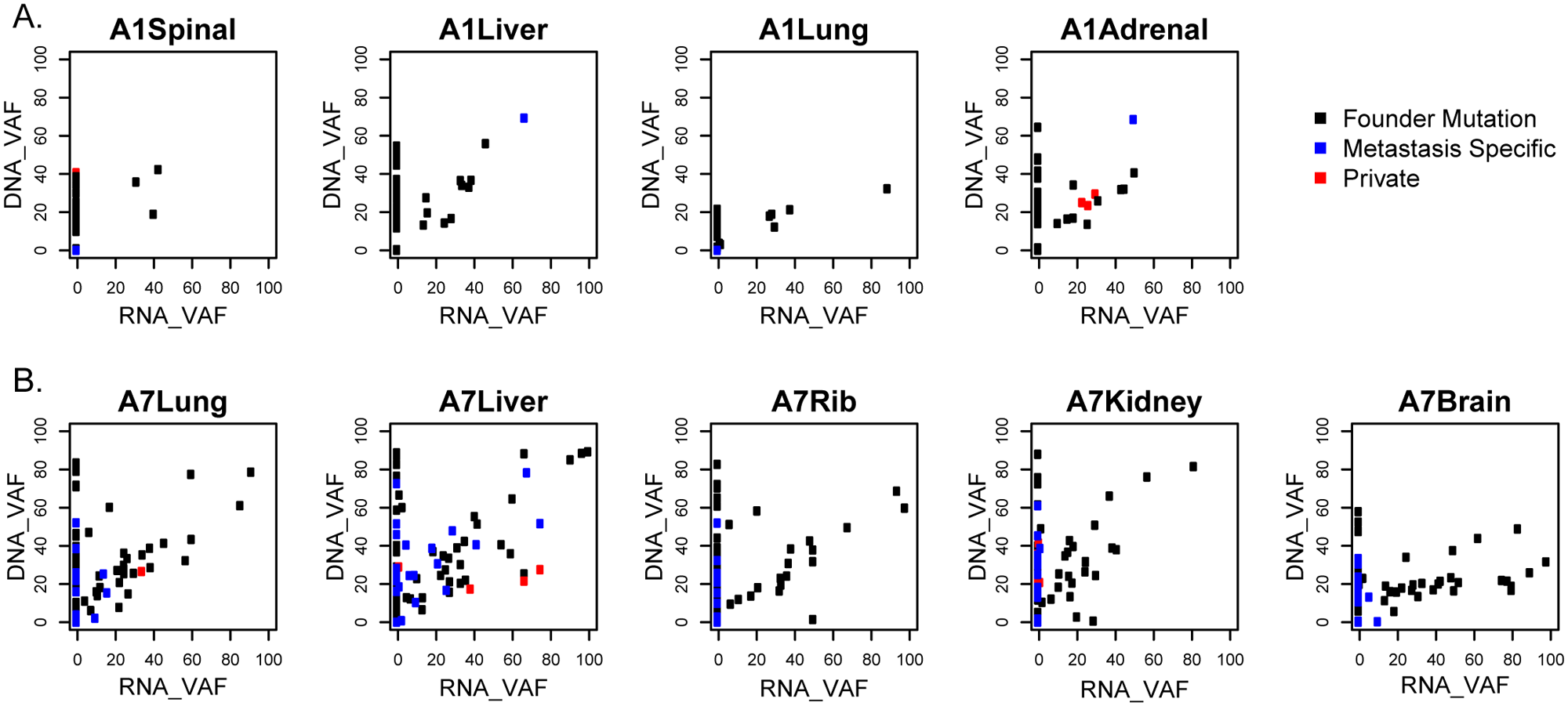 Gene expression of variant alleles.