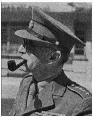 Plukovník Langer v Anglii.