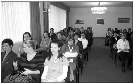 Auditorium 10. sympozia Aktuality v dětské intenzivní péči v Ostravě