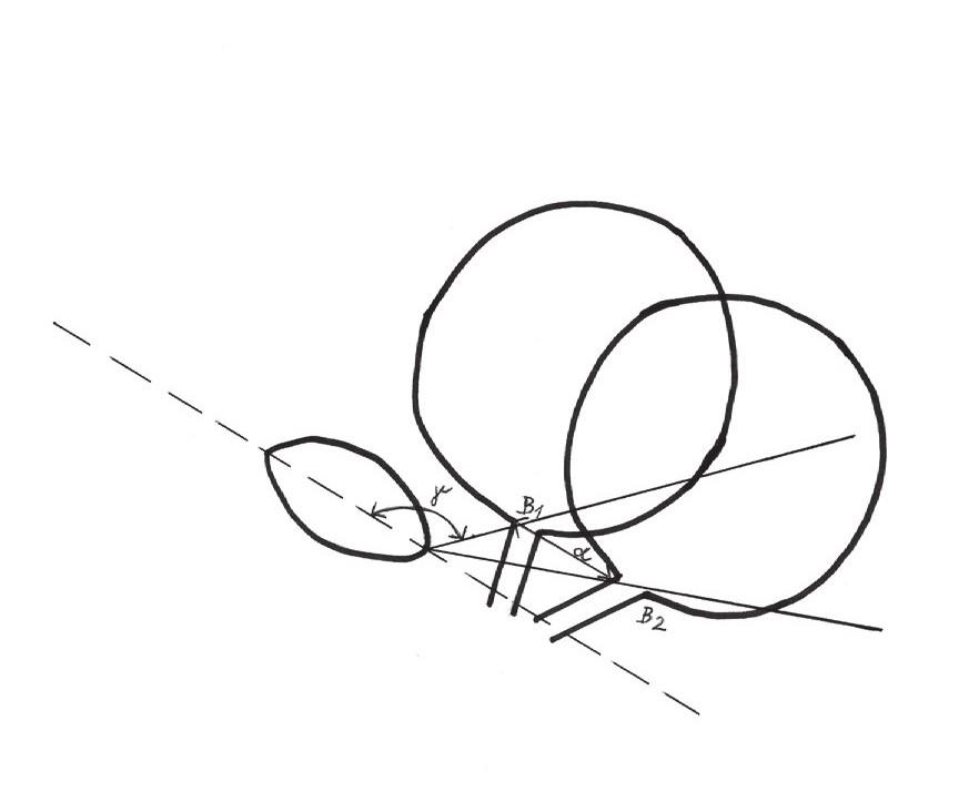 Ultrazvukové parametry (vysvětlení v textu) Fig. 4. Ultrasound parameters (explanation in text)
