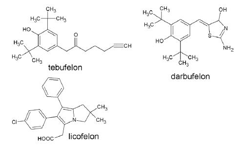 Duálne inhibítory COX/5-LOX