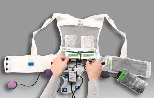 Wearable kardioverter defibrilátor.