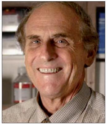 Laureát Nobelovy ceny za rok 2011, profesor Ralph M. Steinman.