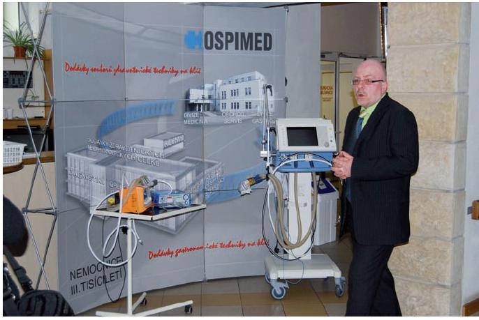 Lékaři v Jilemnické Masarykově nemocnici získali za finanční podpory EU komplet moderního přístrojového vybavení.