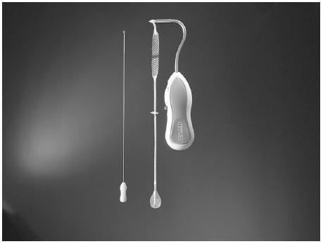 Páska AJUST, zavaděč s plastovým držákem, flexibilní drát k posunu plastové zátky
