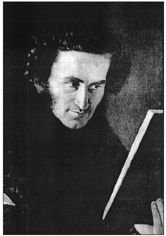 Václav Staněk. Detail z rodinného portrétu J. Hellicha