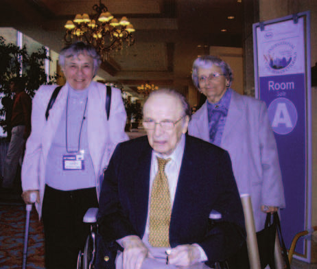 Profesor G. L. Wied, Kongres IAC v Chile.