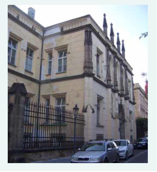 Ke Karlovu 458/4 – Kupecká nemocnice (od roku 1862)
