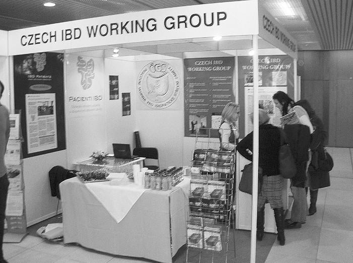 Prezentace Pracovní skupiny pro IBD, ECCO kongres Praha 25. až 27. února 2010