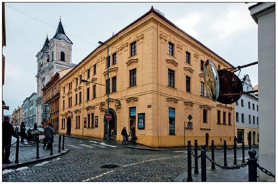 Dům v Klatovech, ve kterém J. Thomayer bydlel při svých gymnaziálních studiích