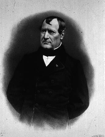 Marie Jean Pierre Flourens (1794 až 1867), profesor fyziologie na Collège de France, sekretář Akademie věd v Paříži