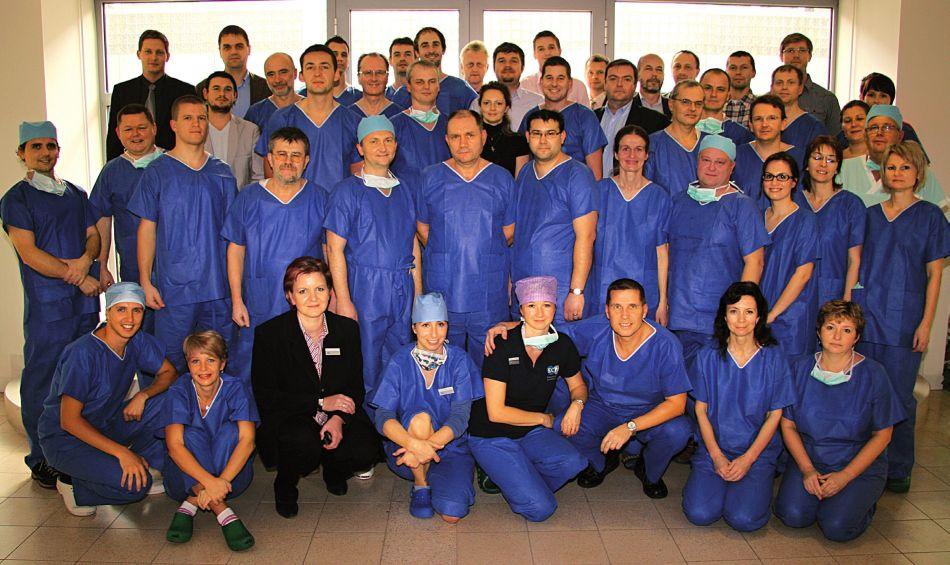 Společná fotografie účastníků kurzu.