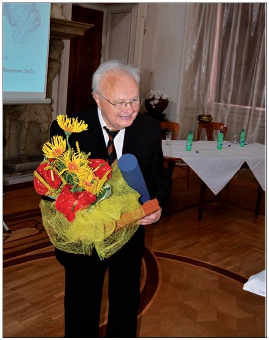 Prof. MUDr. Vladimír Beneš st, DrSc. Foto: Medical Tribune CZ.