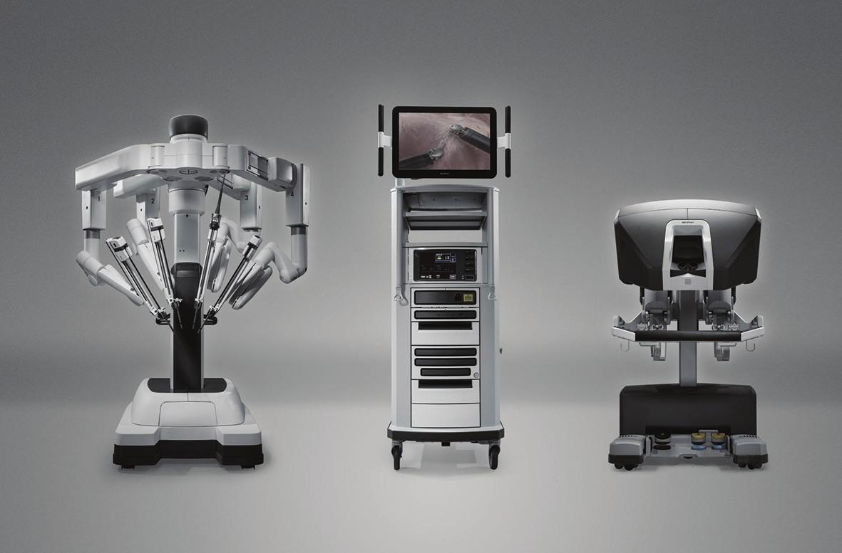 Robotický systém da Vinci Xi Fig. 1: The da Vinci Xi robotic system