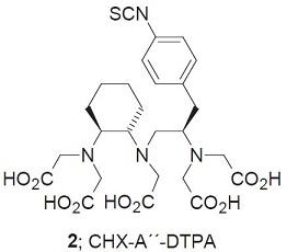 Obr. 5-2 CHX-A´´-DTPA.