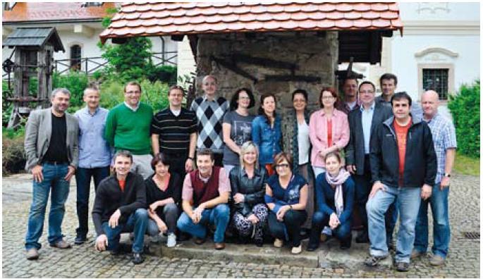 Pracovní skupina pro idiopatické střevní záněty ČGS, 8. 6. 2012. Fig. 3. The Czech National IBD Working Group, 8 June 2012.