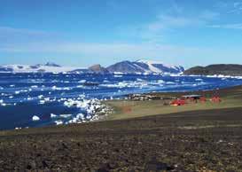 Pohled na Vědeckou stanici J. G. Mendela a na její okolí