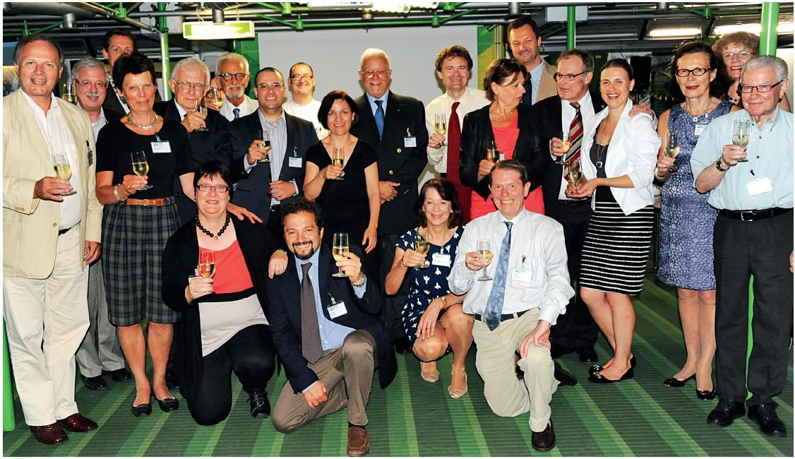 Účastníci schůze UEP k založení EAP.