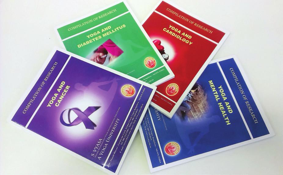 Najnovšie publikácie Joga a rakovina, cukrovka, kardiológia a mentálne zdravie.