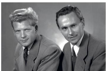 Miroslav Zikmund a Jiří Hanzelka (vlevo)