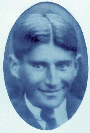 Franz Kafka v r. 1921 počas svojho liečebného pobytu v Tatranských Matliaroch, vo Vysokých Tatrách