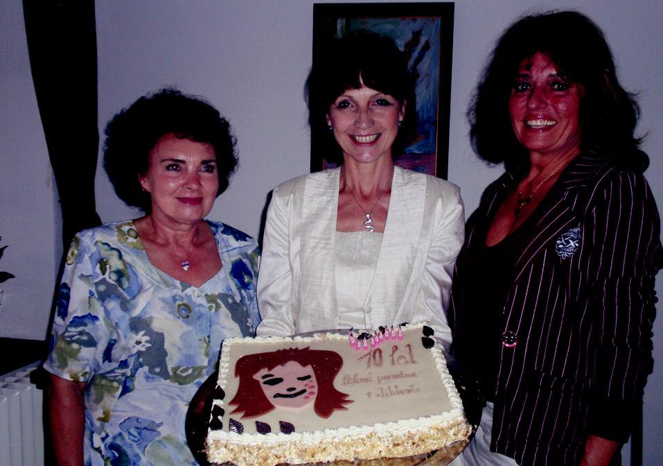 Zleva: doc.MUDr.Jarmila Rulcová, CSc., MUDr.Zuzana Nevoralová, prim. MUDr.Eva Rasochová.