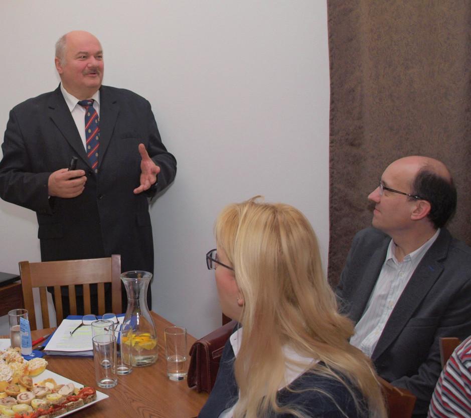 Kolega Piotr Klima nás přijel pozdravit z polské Raciborze.